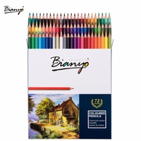 Bianyo 72Colors Non Toxic Classic Oil Colored Pencil Set For Children Special Gifts Sketching Drawing Pencil