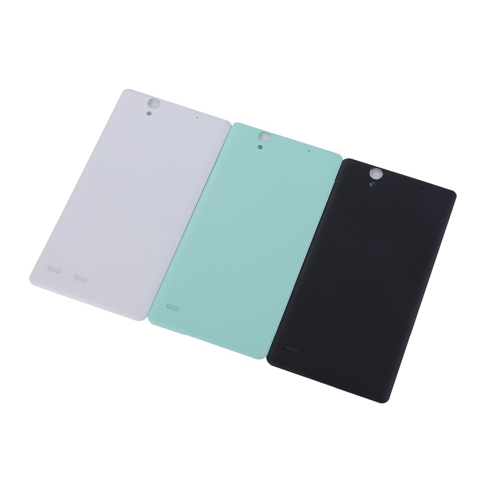 Original New Housing Battery Back Door Cover For <font><b>Sony</b></font> <font><b>Xperia</b></font> C4 Cosmos C4 <font><b>E5333</b></font> E5306 <font><b>E5333</b></font> Housing Single card and Dual card image