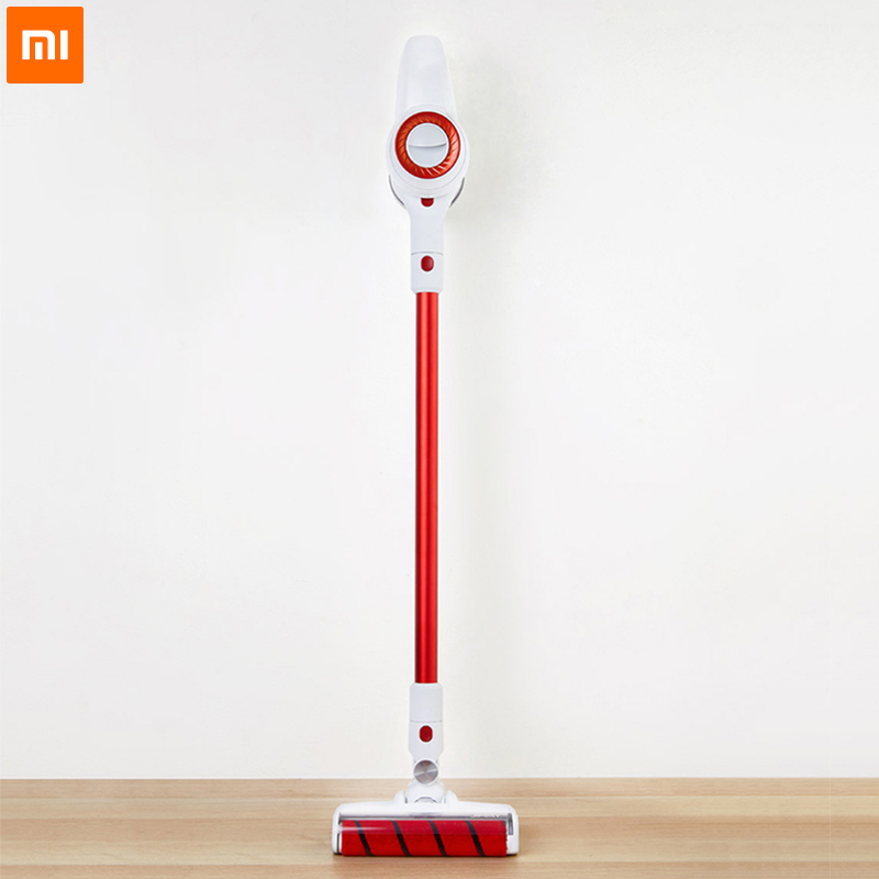 Original Xiaomi JIMMY JV51 inalámbrico de mano fuerte succión de vacío limpiador 10000 rpm bajo ruido casa Aspirador polvo limpiador