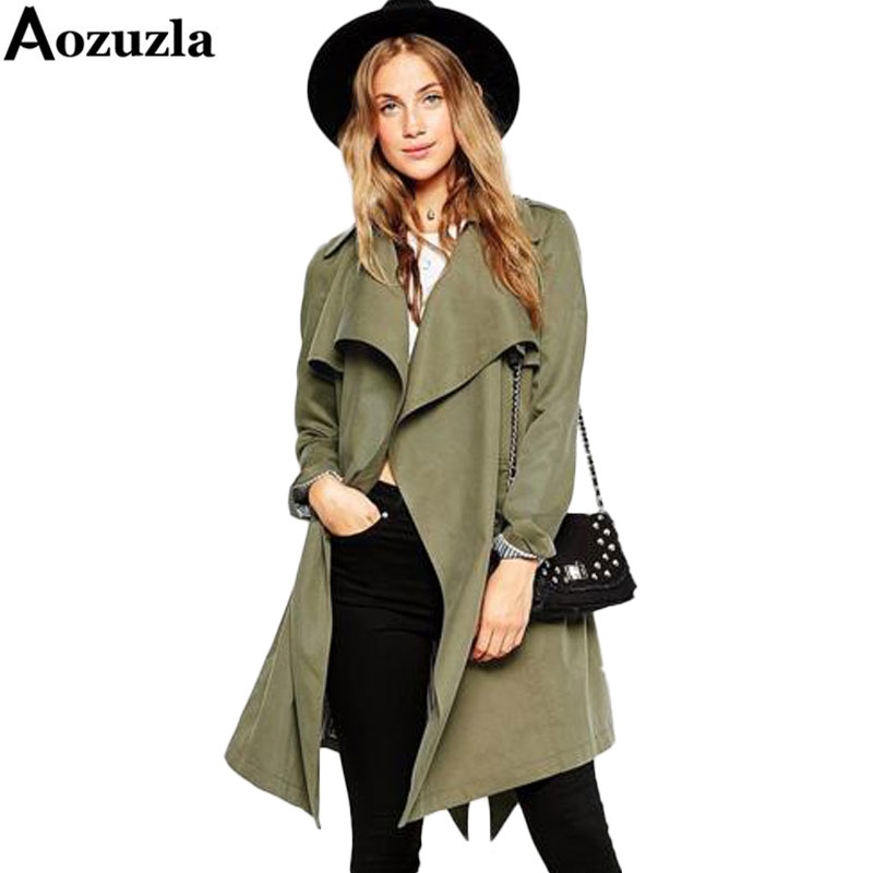 Online Get Cheap Green Trench Coat -Aliexpress.com | Alibaba Group