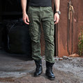 Military Tactical Cargo Pants Men Combat SWAT Army Train Military Pants Casual Cotton Pockets Paintball Outdoors Army Trouser