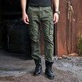 Pantalones Cargo Hombres de Combate Táctico militar SWAT Entrenar al Ejército Militar Pantalones Casuales de Algodón Bolsillos Del Pantalón Ejército Paintball Al Aire Libre