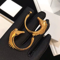 Luxury Brand Timeless Strong Statement Earrings For Women Modern Horse Animal Shape Dangle Earrings High Quality Gold Jewelry