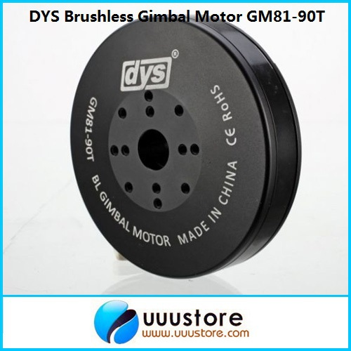 FPV High Performance Brushless Gimbal Motor GM81-90T for FPV Aerial Photography hj5208 75t brushless gimbal motor for 5d2 camera fpv aerial photography black