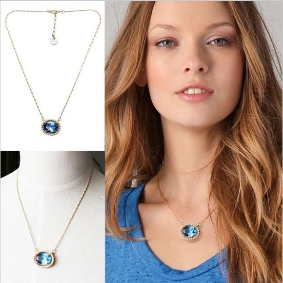 Luxury pearl jewelry crystal brand necklace Artilady summer 2014 fashion 2014 colors accessories jewelry