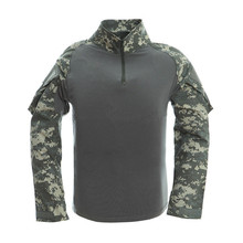 2017 Brand  Male Camouflage T-shirts Army Combat Tactical T Shirt Military Men Long Sleeve T-Shirt Hunt T-shirts S-2XL