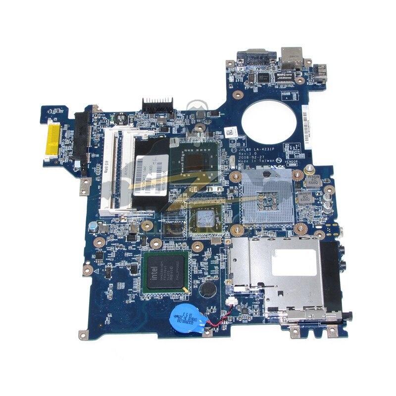 LA-4231P CN-0D813K D813K 0D813K For Dell Vostro 1310 Laptop Motherboard PM965 GPU Graphics DDR2