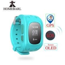 Chroniący przed zgubieniem Q50 LCD OLED dziecko GPS lokalizator LBS SOS Smartwatch monitorowanie pozycjonowanie telefon dzieci SIM inteligentny zegarek dla IOS Android