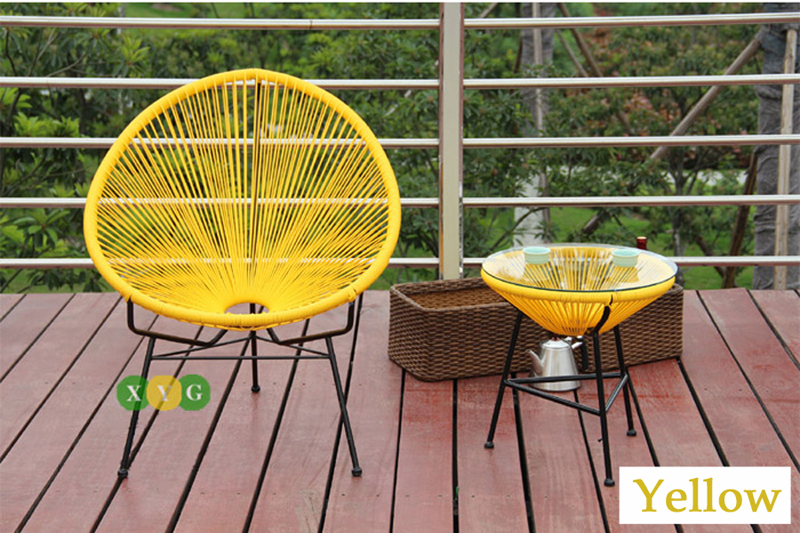 Ony To Australia Relax Acapulco Outdoor Furniture Lounge Wicker Chair And  Table 2Set Dinning Set Outdoor Chair In Garden Sets From Furniture On ...