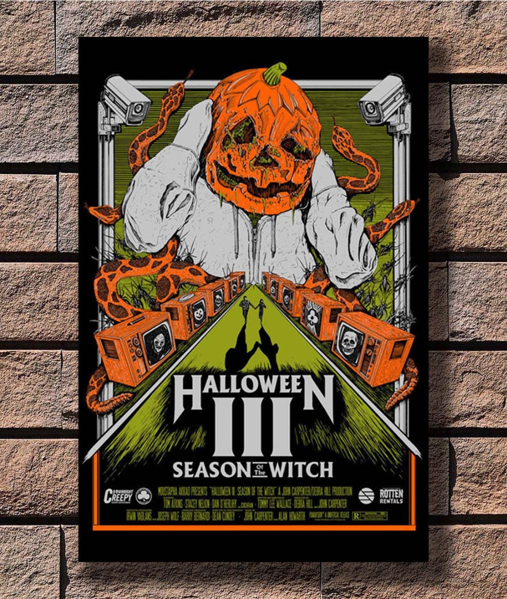 HALLOWEEN III 3 Season of the Witch Movie Art Silk Poster 12x18 24x36