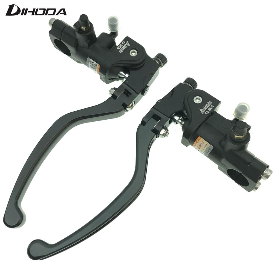Universal 7 8 22mm 19 Rcs Adelin PX 7 CNC motorcycle brake clutch pump master cylinder