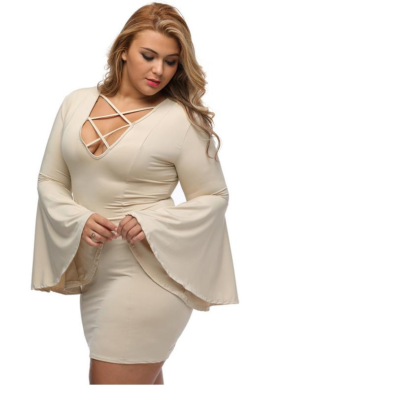 New Vogue Large Size 6XL Increase Size Mini Dress Casual Loose Cloth Loose  Dress Code 7XL Women Large Size 6XL Plus Vestidos-in Dresses from Women s  ... b4b9c358b5b4