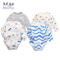 HHTU 2016 New Newborn Baby Clothing Boy Gril Romper Clothes Long Sleeve Infant Product
