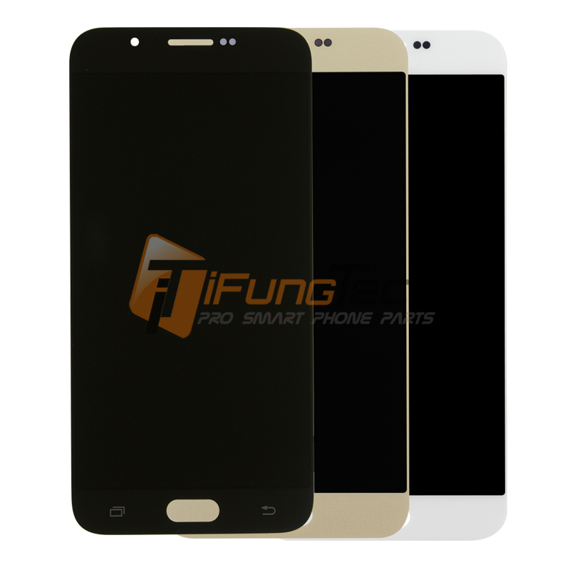 3 colors Original LCD Complete For Samsung galaxy A8 A8000 A800F A800Y A800A LCD display touch screen Digitizer Assembly