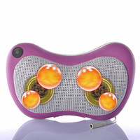 Infrared Heating Double Beauty Body Device Electric Neck Shoulder Back Massage Cushion Multifunction Shiatsu Massager