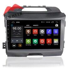 Android7.1 RAM2G 9 inç ekran araba radyo kaset ile KIA Sportage R 2010-2015 için ücretsiz kargo gps navigator dvd oynatıcı ipod