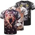 O Envio gratuito de 2016 NOVA Impressão 3D camisetas Homens Calções de Design Da Marca Manga masculino Tops Tees Moda Casual Tshirts TX89-An