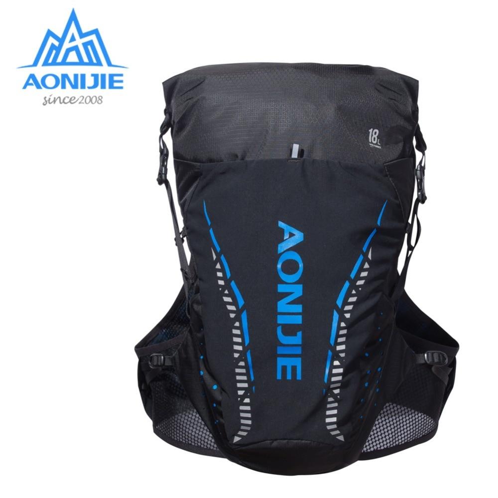 AONIJIE C943 Outdoor Lightweight Hydration Backpack Rucksack Bag Vest for 2L Water Bladder Hiking Camping Running