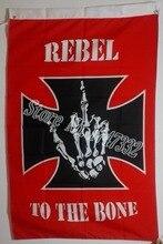 Pirate Flag custom Skull and Cross Crossbones Jolly Roger Flag hot sell goods 3X5FT 150X90CM Banner brass metal holes JR02