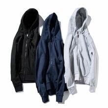 Hip Hop Men's Solid sweatshirt Hoodie