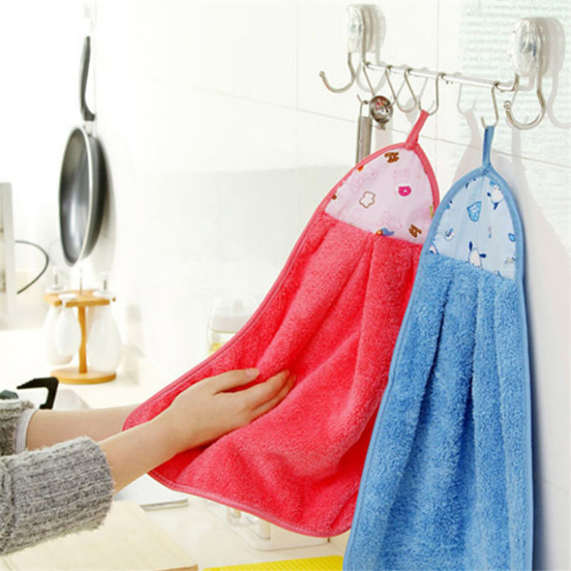 New Cute Dishcloth Microfiber Kitchen Clearing Tools Towel For Window Rags Glasses Washing Dish Towels Clearing Cloth Hot Sale