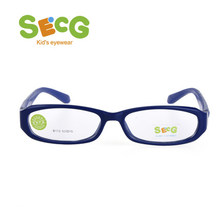 2dfa5b6a56c SECG Solid Tough Children Frame Optical Myopia Glasses Frame Cute Rectangle  Spectacle Kids Frame Eyeglasses Rubber