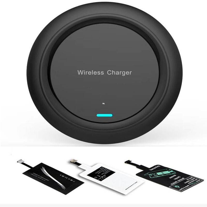 Universal Qi Wireless Charger Receiver Kit for iPhone X/8