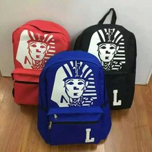 Top Quality printing backpack college baggage girls males korean final kings bag for youngsters laptop computer wholesale free transport
