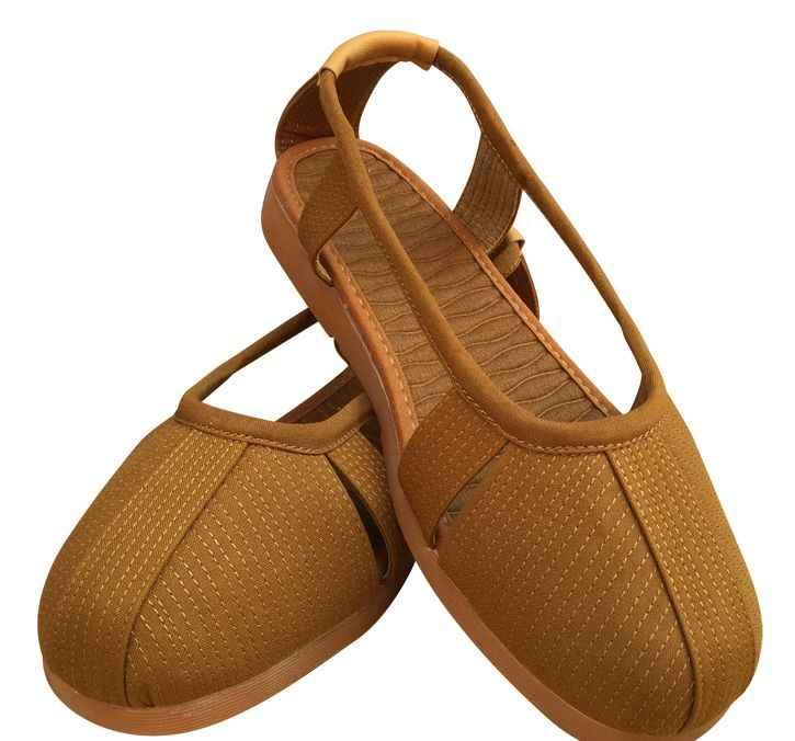 ユニセックス夏黄色/グレー/コーヒー少林寺僧カンフー仏教レイ瞑想禅ローハン羅漢サンダル僧侶靴