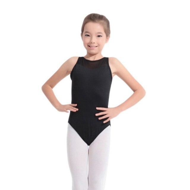 e603549bad2b Fashion Kids Girl White Gymnastics Leotard Costumes Dance Leotard ...