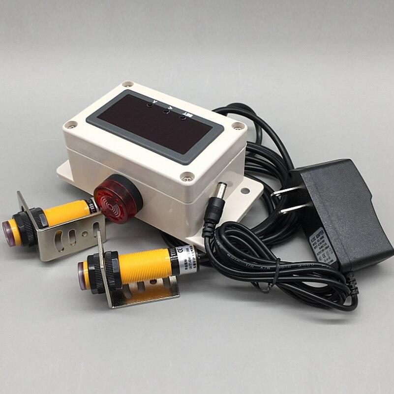 Автоматический индукционный электронный счетчик, линия производства, подсчет ленты, транспортное оборудование, инфракрасный светодиодный...
