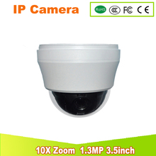 CCTV Security Outdoor IP66 Speed Dome 3.5″ MINI SIZE AHD PTZ Camera Surveillance 960P 1.3MP 10X ZOOM Auto Focus Pan/Tilt IR-CUT