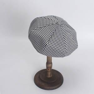 8e028fcb39d58 Latwelng Plaid For Women Female Ladies Beret Autumn Hat