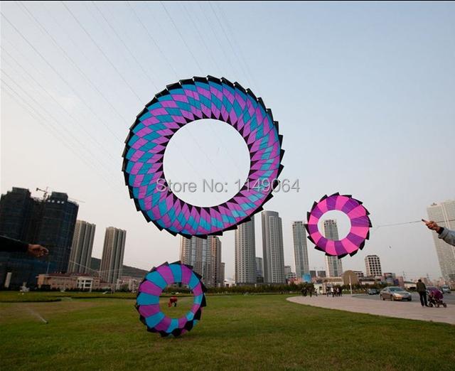 Envío de la alta calidad 2-10 m kite swivelso hermoso arco iris cometas diferentes tamaño elegir idea para presente naranja pájaro de juguete