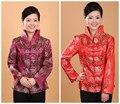 2016 nova primavera moda tradição chinesa das mulheres brasão jacket casacos tamanho s m l xl xxl xxxl 2288