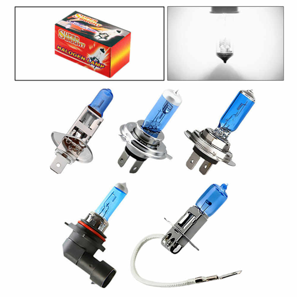 Car Fog Halogen Bulb Led Lamp Light Super Bright White Hight Power 55W 100W H1 H3 H4 H7 H8 H11 9005/HB3 9006/HB4 6000K 12V 24V