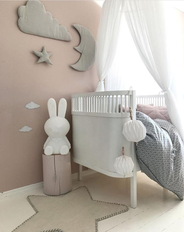 3pcs stjerne månen sky Vegg Hengende Dukke Baby Komfortabel Plysj - Dukker og utstoppede leker - Bilde 5