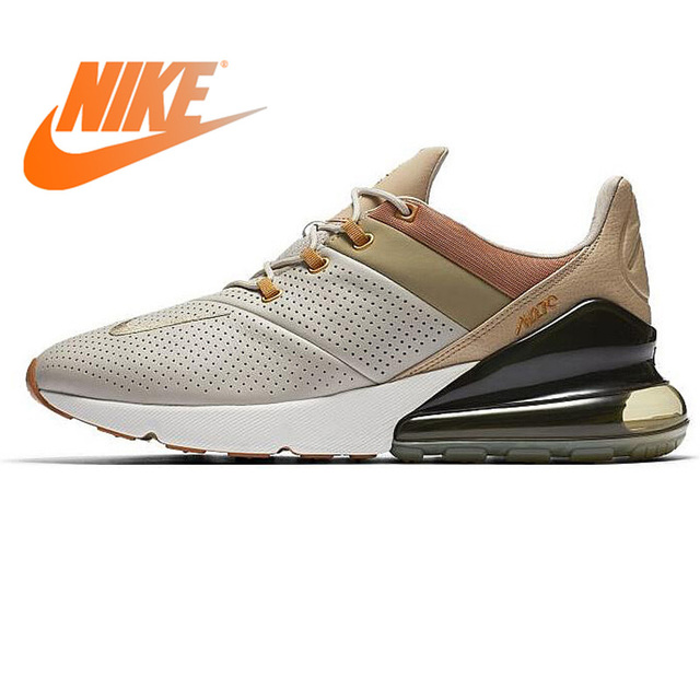 sports shoes f270e 083bf Original New NIKE Air Max 270 Premium Men s Running Shoes Breathable  Lace-up Sneakers Casual Wear Resistant Cushioning Shoes