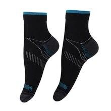 2017 Nuevos Hombres Y Mujeres De Las Medias de Compresión Higroscópico Y Sudor de secado rápido Calcetines Deportivos Calcetines de Los Deportes Al Aire Libre