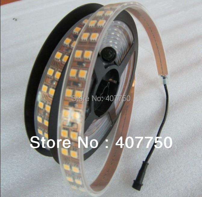 vysoce kvalitní SMD 5050 144l za metr 18W teplé bílé ohebné - LED Osvětlení