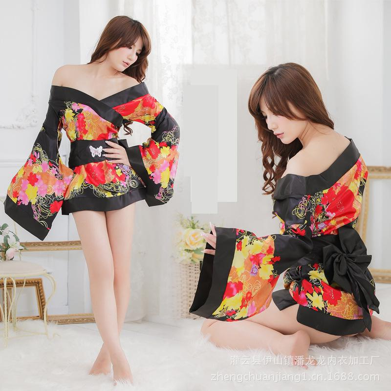Fashion Womens Solid Silk Kimono Robe for Bridesmaids Wedding Party Night Gown Pajamas k ...