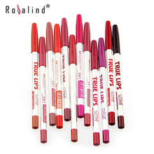 Rosalind New Arrival Long- Wearing And Water-proof Lips Makeup Cosmetic Professional Lipstick Liner Set Kit Brand M.N