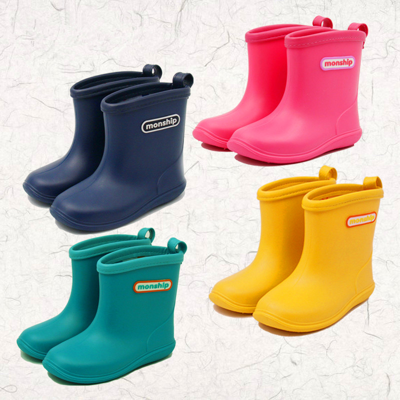 Girls and boys foreign trade Japan rain boots 4colors FreeShip фитнес блоки foreign trade yz01 eva