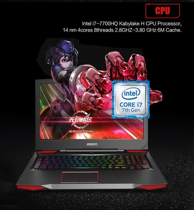 """HTB14VqeaED.BuNjt ioq6AKEFXau Bben G17 Gaming laptop NVIDIA GTX1060 GDDR5 17.3"""" pro windows10 intel 7th gen. i7-7700HQ DDR4 8GB/16GB/32GB RAM M.2 SSD"""