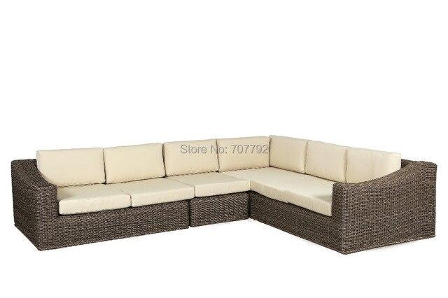 2017 estilo moderno SG 044A al aire libre muebles de ratán sofá de ...