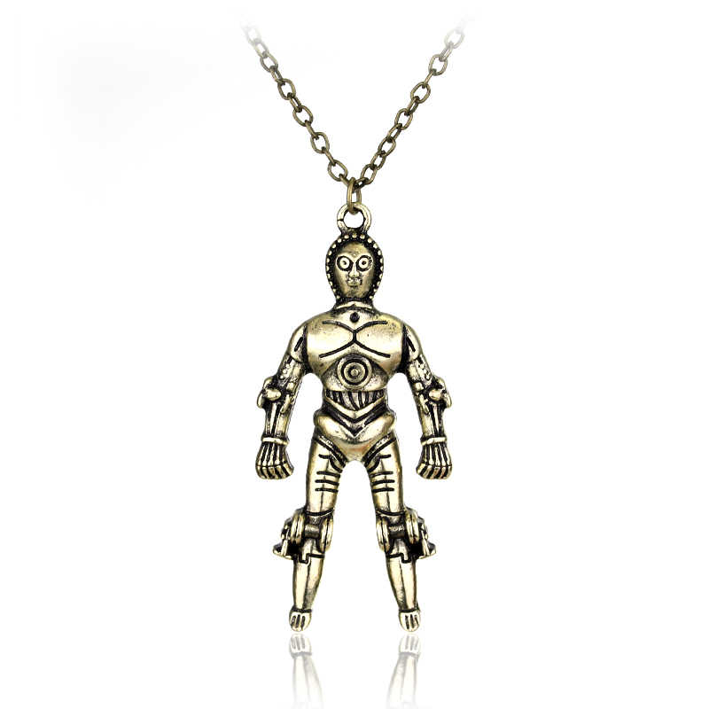 Разрушитель из «Звездных войн» корабль ожерелье s & Подвески космический корабль военный корабль треугольное ожерелье Сокол мужской подарок может дропшиппинг