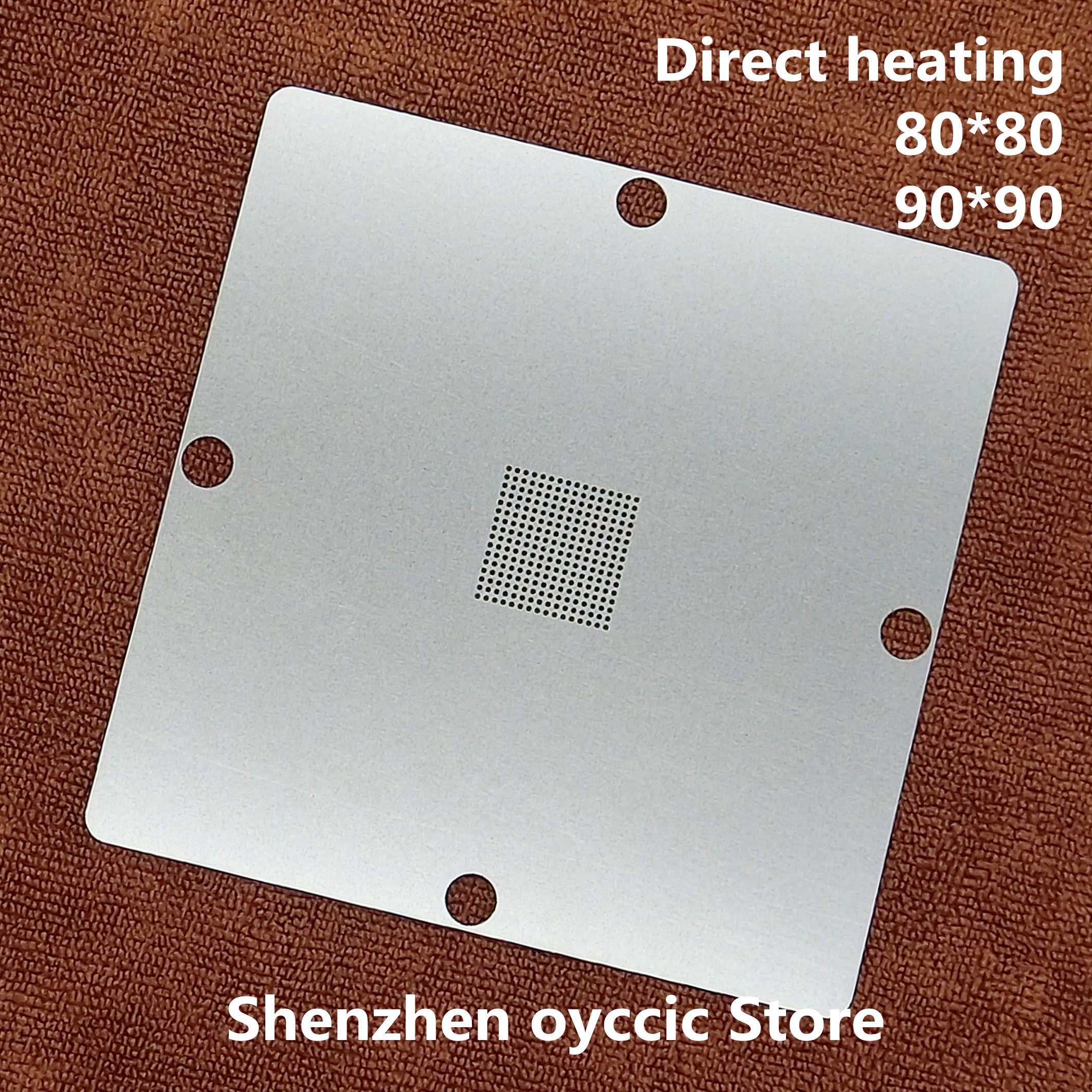 Direct heating 80*80 90*90  D830K013BZKB4  D810K013BZKB4  BGA Stencil TemplateDirect heating 80*80 90*90  D830K013BZKB4  D810K013BZKB4  BGA Stencil Template