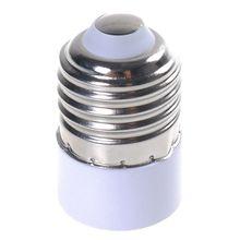 E27 к E14 базы светодиодный свет лампы конвертер Винт гнездо адаптера держатель лампы конвертер