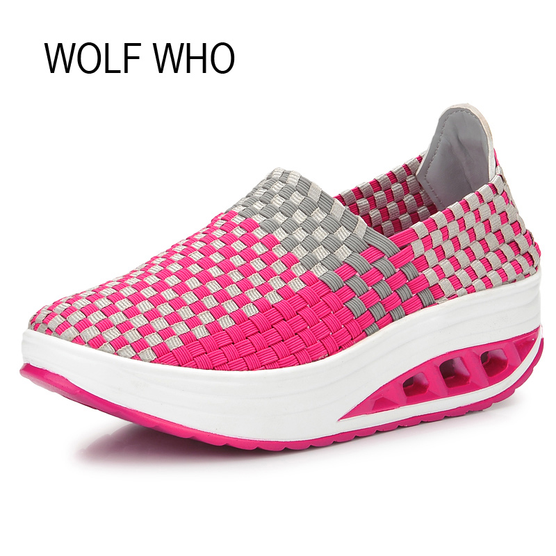 WOLF WHO 2017 Summer Women Krasovki Slipony Ladies Platform Shoes Female Tenis Feminino Casual Basket Femme Footwear x268 2017 spring autumn casual men s shoes basket femme chaussure tenis feminino male shoes sport krasovki trainers luxury presto