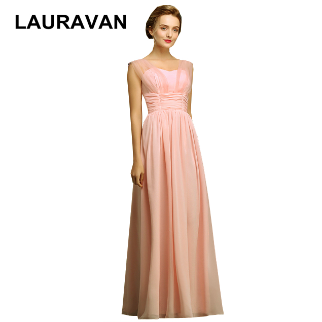 robe new fashion occasion girl party simply spaghetti straps new long sweetheart chiffon peach lilac   bridesmaid     dress     dresses